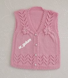 Diy Crafts - Would you like to plant your first vegetable garden? Crochet Baby Poncho, Knit Baby Dress, Knitted Baby Cardigan, Crochet Baby Clothes, Baby Boy Knitting Patterns, Baby Cardigan Knitting Pattern, Baby Patterns, Pullover Design, Sweater Design