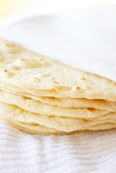 DIY: soft flour tortillas - one batch and you're spoiled for life. Follow the directions/measurements exactly, and you'll never eat store bought tortillas again.