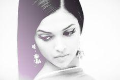 deepika padukone, bollywood retro look in om shanti om, love her black eyeliner