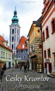 Cesky Krumlov a photo tour. This medieval town survived the World War 2 bombings, leaving it intact. Cesky Krumlov is a delight to stroll through. Come see why!