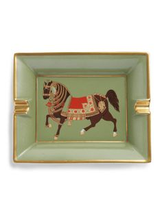 Horse Ashtray from Vintage Collectibles on Gilt