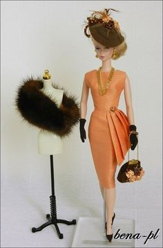 bena-pl for FR Victoire Roux, FR East 59th, Silkstone Vintage Barbie OOAK outfit | eBay