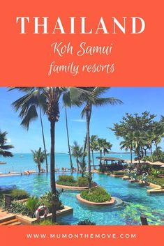 The best family resorts and hotels in Koh Samui Thailand. Koh Samui Thailand, Thailand Resorts, Thailand Travel Guide, Asia Travel, Travel Tips, Travel Packing, Koi, All Inclusive Family Resorts, Family Vacations