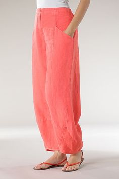 Order our Trousers Benita from our OSKA Spring/Summer 2013 collection today Cigratte Pants, Comfy Pants, Trousers, Free Spirit Clothing, Flattering Outfits, Linen Dresses, Kurtis, Linens, Boho