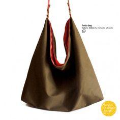 Hobo Bag #whiteorangefarm #mosseash #handmade #handmadebag #cotton #canvas Orange Farm, Handmade Bags, Hobo Bag, Cotton Canvas, Handmade Purses