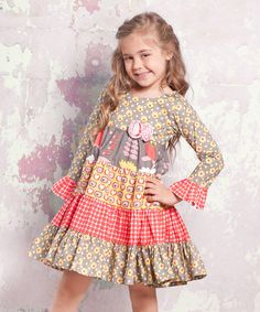 http://www.zulily.com/invite/vhanson979 Take a look at this Indian Summer Cameron Dress - Infant, Toddler & Girls by Jelly the Pug on #zulily today!