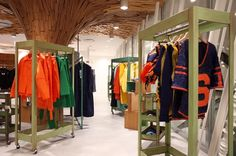 Few shops feel more quintessentially Tokyo than Dover Street Market, where wacky and weird fashions by Comme des Garçons—and its myriad offshoots—hang alongside luxury brands like Saint Lauren, Alaia, and Rick Owen amid a cast of ever-changing art installations. doverstreetmarket.com
