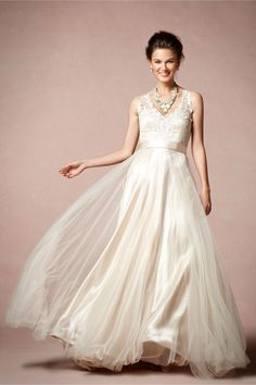 Onyx Gown from BHLDN