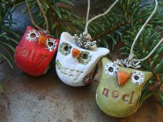 Humblebeads Blog: Merry Little Owl Holiday Ornament Tutorial