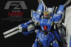 "Custom Build: PG 1/60 FA-178 Gundam Mk. II ""Full Armor Custom"" - Gundam Kits Collection News and Reviews"