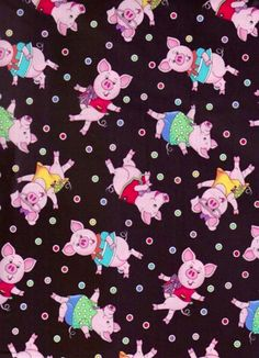 Great pattern for a baby blanket or nursery theme