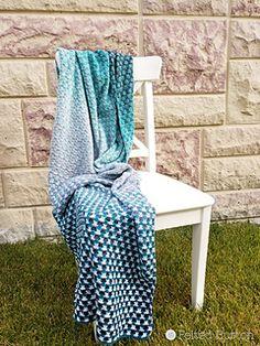 Ravelry: Trio Blanket pattern by Susan Carlson