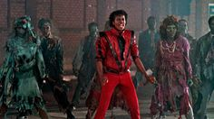 Michael Jackson's Thriller isn't just a music video, it's a cinematic experience. So, it's no surprise that Jackson's estate is teaming up with IMAX to bring a remastered version of the classic short film to theaters. Everyone, get your zombie arms ready! Thriller Michael Jackson, Michael Jackson Gif, Michael Jackson Halloween, Mtv, Thriller Video, Michael Jackson's Songs, Gif Terror, Halloween Songs, Halloween Party