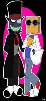Black Hat x Dr. Flug. by Rayothecat124