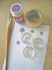 Ally's In Wonderland: Craft Geek DIY: How to Print on Glass Jars
