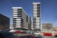 """Built by Estudio Rubio & Álvarez-Sala in Tarragona, Spain with date 2014. Images by Lluis Casals. The project is within the program Habitatge Assequible deObra Social """"La Caixa"""", with the aimof providing rental ho..."""