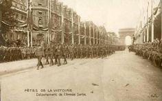 Victory March in Paris of the Serbian Army