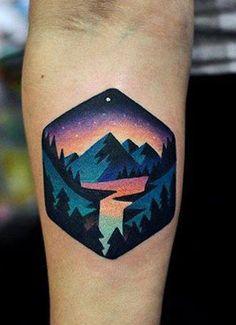 Top 50 Beste Geometrische Tattoos Benjamin on Tattoos Forest Forearm Tattoo, Forest Tattoos, Forearm Tattoo Design, Tattoo Arm, Compass Tattoo, Tattoo Designs And Meanings, Tattoo Designs Men, Body Art Tattoos, Sleeve Tattoos