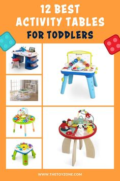 We have compiled a list of the 12 best toddler activity tables that came highly recommended by parents and showed no review manipulation. It is important for us to ensure that each activity table on this list is one of the best and promotes learning and helps them with various developmental skills. Each of these tables is designed for both boys and girls of toddler age and they are all made from high-quality, non-toxic materials for safety. Best Toddler Toys, Toddler Age, Best Kids Toys, Table Activities For Toddlers, Learning Activities, Activity Tables, Activity Centers, Toy Trees, Cool Toys For Boys