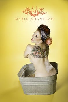 PinUp Wash Tub Shoot by Marie Grantham on 500px