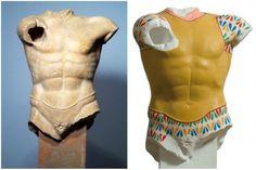Antiche statue greche colorate05