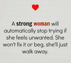A Strong Woman. ...