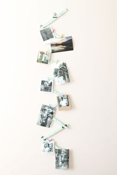 Photo Display by Laura Silva using the Ruler Studio and Frame Punch Board from We R Memory Keepers