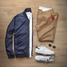 A nice look for the Cooler months. Starting with a good simple base, you can build a classic look that will look great no matter where life takes you.