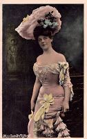 Items similar to Antique Real Photo Postcard - Gibson Girl Camille Clifford postmarked 1905 on Etsy Victorian Hats, Edwardian Era, Edwardian Fashion, Gothic Fashion, Girl Fashion, Camille Clifford, Old Time Photos, Magazine Images, Ideal Beauty