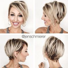70 Overwhelming Ideas for Short Choppy Haircuts - - Long Blonde Pixie With Black Roots Messy Short Hair, Short Hair Cuts, Short Hair Styles, Short Blonde Pixie, Shaggy Pixie, Short Choppy Haircuts, Blonde Haircuts, Pixie Hairstyles, Latest Hairstyles