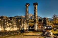 The Temple of Artemis, Turkey The Temple of Artemis in Sardis was the fourth largest Ionic temple in the world. Originally built in 300 BC by the ancient Greeks, the temple was renovated by the Romans in the 2nd century AD. During the Roman period it served also as a temple of the imperial cult.