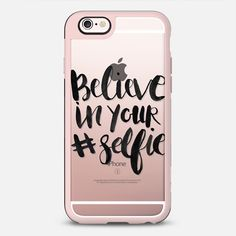 Casetify iPhone 7 Case and Other iPhone Covers - Believe in your Selfie by Sam's Simple Decor | #Casetify