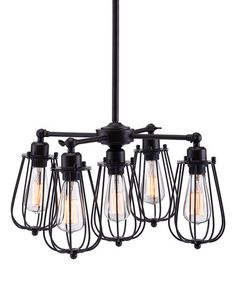Porirua Ceiling Lamp #zulily #zulilyfinds $229.99  61.4'' H x 21.7'' diameter Metal Requires five 25 W bulbs (not included) Assembly and hard-wire installation required Professional installation recommended Imported