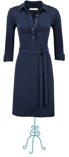 Dress Fabuleux original Navy - Collectie