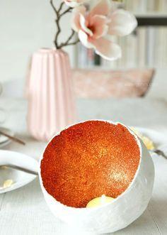 DIY Anleitung: Gips Kupfer Schale für Teelichter | DIY Tutorial plaster copper shell tealight | waseigenes.com