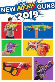 Check out the Best New Nerf Guns of 2019! Nerf enthusiasts will want to add these to their arsenal! Take your Nerf Wars to the next level!! These are the toys boys really want. #Nerf #giftideas #giftideasforkids #giftguide