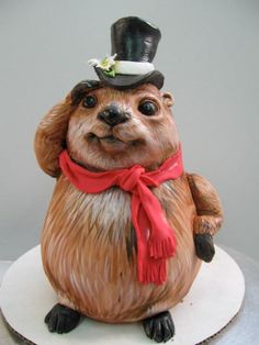 Karen Portaleo, Groundhog cake