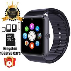 We Promise You! 24 hours online Customer Service are ready for your any questions! Smart Watch Review video:   Bluetooth Connecting video:  Note: 1.If phone don't work with our APK, you can download Mediatek SmartDevice 2.Plz charge watch half an hour before you use it Feature 1.Compatible...