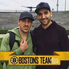 Marchand and Bergeron Hockey Teams, Hockey Players, Ice Hockey, Sports Teams, Brad Marchand, Patrice Bergeron, Boston Bruins Hockey, Boston Strong, Boston Sports