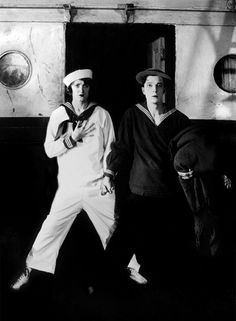 Kathryn McGuire and Buster Keaton in The Navigator