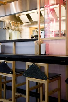 Copenhagen's hippest hound oversees the considered Japanese philosophy at design-conscious noodle bar...