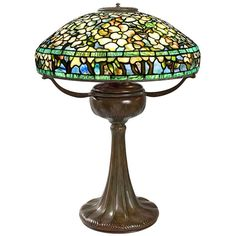 """Tiffany Studios """"Flowering Dogwood"""" Lamp 