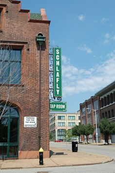 Just 1 block from the Lofts At 2020 (Sporting News Lofts)....ENJOY...!!!!  The Schlafly Tap Room first opened its doors in 1991 and proudly holds the distinction of being the first new brewpub in Missouri since Prohibition.  Housed in a beautifully restored turn-of-the-century brick and timber building    2100 Locust St.  St. Louis, MO 63103