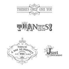 Vintage Verses - Stampin Up Sale-a-Bration