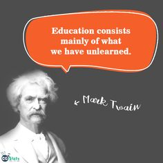 #CGSlate #Education #Knowledge #Quotes #Motivation #Inspiration #Inspire #Educate #Learning #Fun #MarkTwain