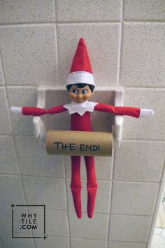 One last elf move till next year. Make it epic . or not, we know you are tired. Here's an easy one!