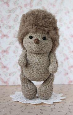 Hegehog baby gift, Plush hedgehog toy, Stuffed hedgehog