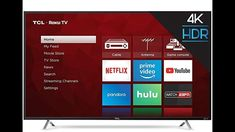 STUNNING PICTURE The TCL Roku TV delivers stunning picture performance while bringing all your favorite content through a simple, intu. Netflix Videos, New Netflix, 4k Uhd, Tvs, Televisions, Smart Tv Samsung, Console Tv, Shops, Cable Box