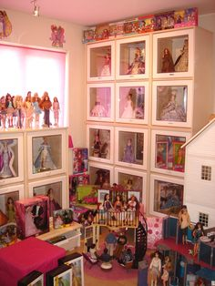 My first Barbie Room; right-hand side