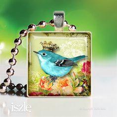 Sweet little royal bird.